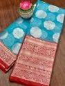 Heavy Organza Silk Indian Wear Saree