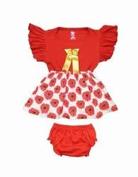 Baby Girls Froick And Pant Dgn-523