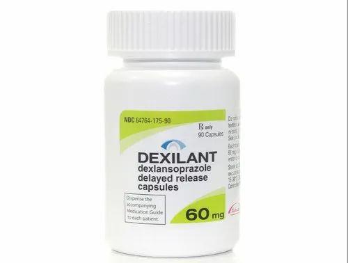 Dexlansoprazole 60 Mg Dexilant Capsule, Prescription, Stomach And Esophagus  Problems, | ID: 22633949912