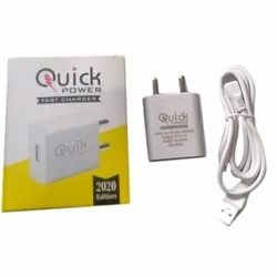 1 Meter White Quick Power USB Mobile Charger