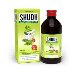 Syrup 200 ML Torque's Shudh Raktashodhak Herbal Blood Purifier, Prescription, Packaging Type: Bottle