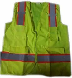 Unisex Polyester Reflective Jacket, For Traffic Control, Gsm: 90 Gsm