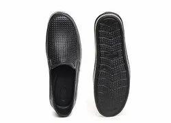 Jeevika Black Mens EVA Bond Shoes, Size: 6 x 9