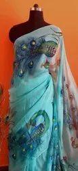 RANG Mayur Saree