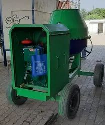 Kirloskar Diesel Engine Concrete Drum Mixer