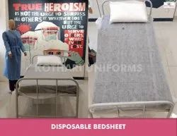 DISPOSABLE NON WOVEN BEDSHEET WITH PILLOW