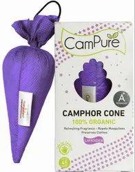 Lavender Camphor Cone