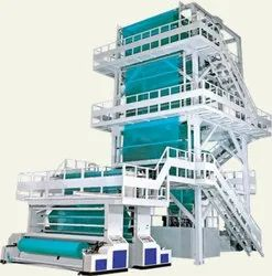 Mulch Film 2 Extruder 2 Color Blown Film Plant