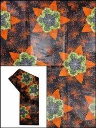 44-45 Multicolor 135 GSM Cotton Shine Wax Print (African Wax Prints), For Garments, GSM: 100-150
