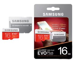 Samsung 16 GB EVO Plus Memory Card