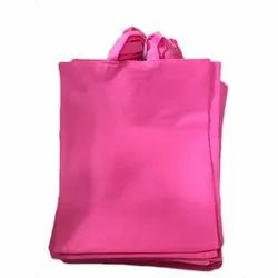 Loop Handle Plain Non Woven Shopping Bag, Capacity: 5 Kg, Size: 12 X 14 Inch
