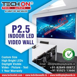 Square Outdoor Commercial Video Wall, Display Size: Custom