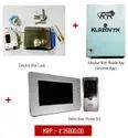 Electric rim lock with with Video Door Phone and Adapter with Mobile App