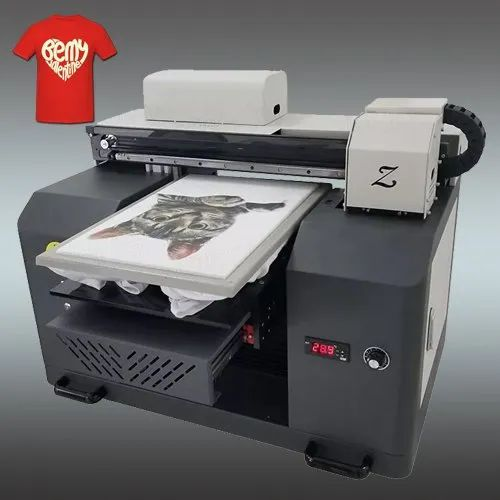 Hd Color Coated Direct To Garment T Shirt Printing Machine 110 240 Capacity 300 Pcs Per Day Rs 399999 Piece Id 22636713388