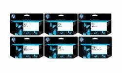 HP 72 Ink Cartridges 130ML Orignal