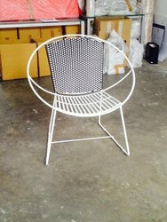 Iron Backrest Chair, For Back Support, Size: Custom