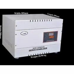 Automatic Micro controller 5 kVA Single Phase Servo Voltage Stabilizer, Floor, 140-300 V