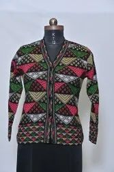 1412 Woolen Ladies Cardigan