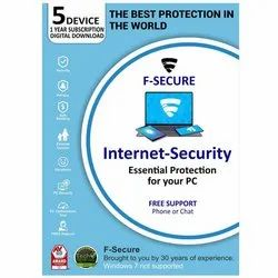 Fsecure Internet Security 5Pc 1Year