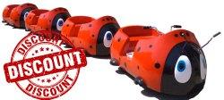 Bug Toy Train Amusement Ride