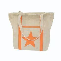 Natural Jute Shopping Bags, Capacity: 5kg