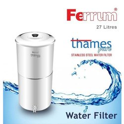27 Litres Thames Pure Stainless Steel Water Filter