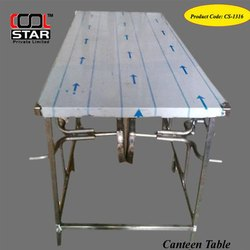 Stainless Steel Canteen Tables