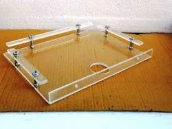 Acrylic Set Top Box Wall Shelf (18 Inches)