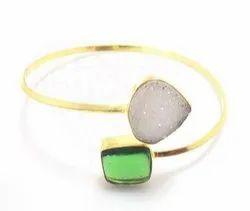 Multi Stone Bangle Bracelet
