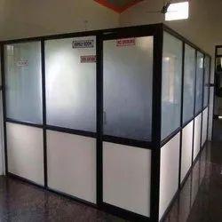 Aluminum Door Partition, For Office, Type Of Door: Sliding