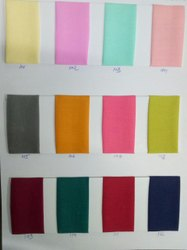 muslin dyed fabric