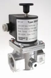 ZEVM Manual Reset Type Gas Solenoid Valves