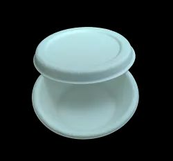 50ml Sauce Container With Lid Bagasse