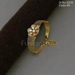 Openable Kundan Bracelet Kada