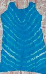 TURKISH BLUE LONG TOP