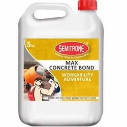 Semitrone Dark Brown Max Concrete Bond Workability Admixture, Packaging Type: Jerry Can