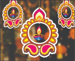 SIGNATIVE Paper Deepak Hanging, For Decoration