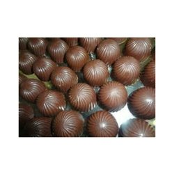 Brown Homemade Milk Chocolates
