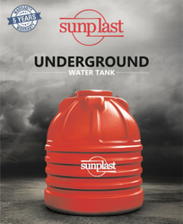 Sunplast HDPE Underground Water Tank
