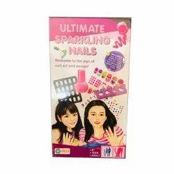 Ekta Abs Plastic Ultimate Sparkling Artificial Nails, Box