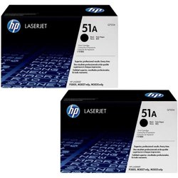 HP LaserJet 51A Black Toner Cartridge (Black)