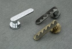 Zinc SATIN Mortise Handle, For Door Fitting, Size: 8