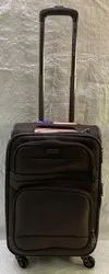 American Polo USA 56 CM Brown 4 Wheeler Luggage Trolley bags / Suitcase Trolley Polyester