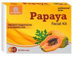 Soundarya Herbs Papaya Facial Kit, Suitable for All Age & All Type Skin Solution
