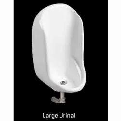 White Gents Ceramic Large Urinal, For Bathroom