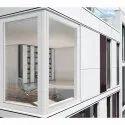 White (frame) Upvc Fixed Balcony Window, Glass Thickness: 3mm
