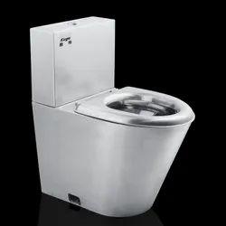 Stainless Steel Western Toilet
