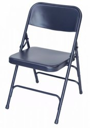Custom Iron Folding Chair