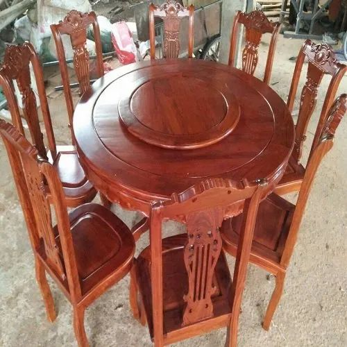 8 Seater Round Dining Table, Round Dining Room Table For 8