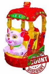Cat Kiddie Amusement Ride Game